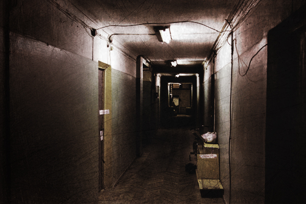 страшная мистическая история тёмный коридор