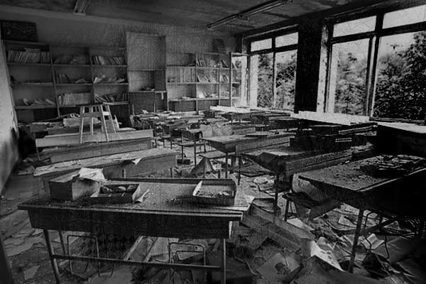 страшная история про школу