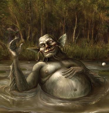 леший болотник