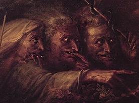 три страшных ведьмы