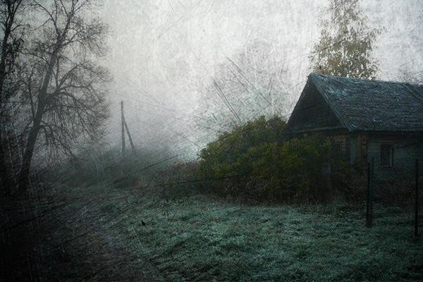 страшная деревня