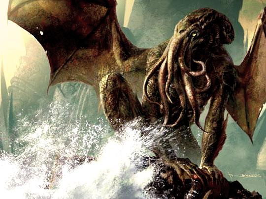 страшный монстр ктулху